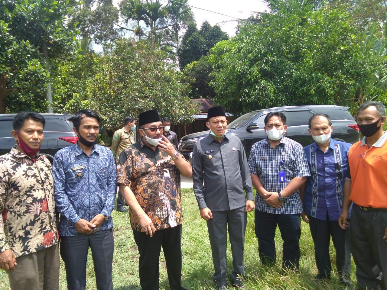 Percepatan dan Pemerataan Pembangunan, Benny Utama-Sabar Kunjungi Mapat Tunggul Selatan