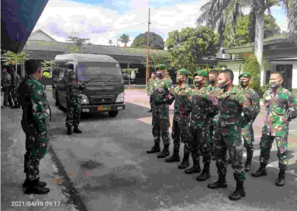 Lepas 18 Personil Tamtama, Dandim 0305/Pasaman: Tunjukkanlah Selalu Dedikasi dan Disiplin Tinggi