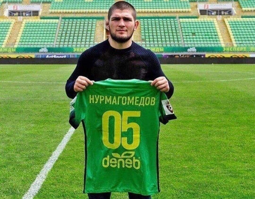 RESMI: Legenda UFC, Khabib Nurmagomedov Dikontrak Klub Sepakbola Russia