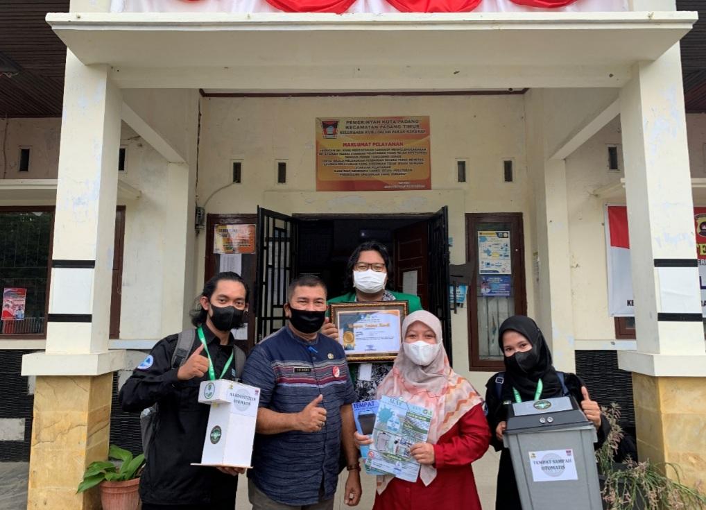Program KKN dan Pengabdian Masyarakat Untuk Cegah Penyebaran Covid-19 di Kubu Dalam Parak Karakah Padang Berakhir Sukses